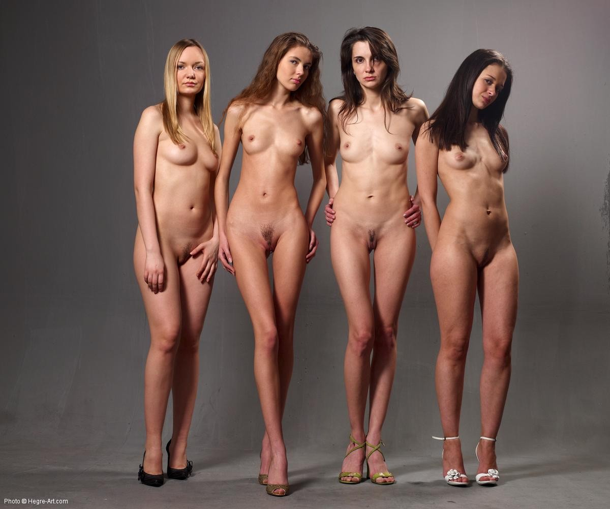 Hegre Art Group Nude Girls