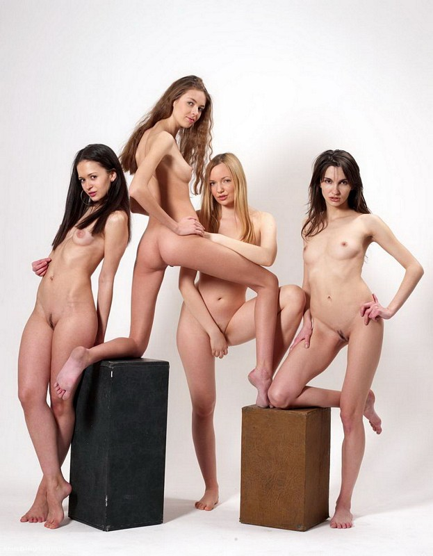 Slutty hipster girls naked