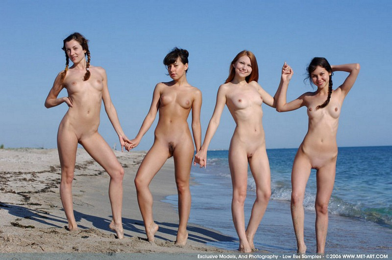 beach nudes Young